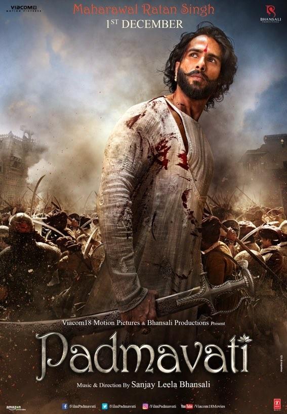 Shahid Kapoor As Maharawal Ratan Singh From Padmavati Is See To Believe Breathtaking