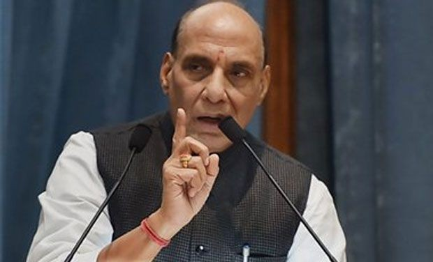 Rajnath Reiterates: Rohingyas Illegal Immigrants, Not Refugees