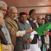 PM Modi flags off Mahamana Express from Varanasi