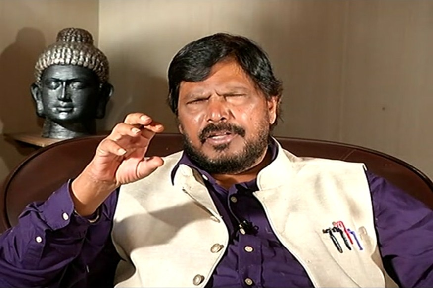 Athawale says will support BJP in Gujarat elections