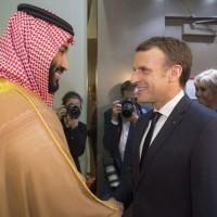 Amidst Saudi-Iran Tensions Macron Makes Surprise Riyadh Visit