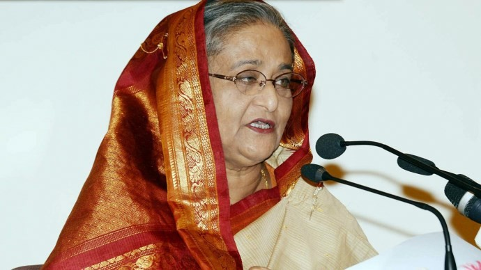 Sheikh Hasina takes oath as Bangladesh prime minister for fourth time after landslide win in 'tainted' polls
