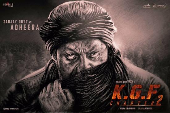 Sanjay Dutt As Adheera In Yash's KGF Chapter 2..!!