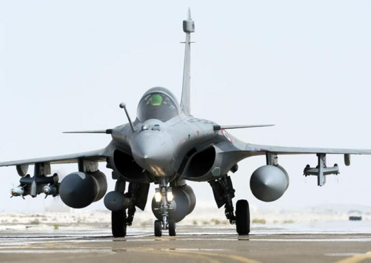Rajnath Singh receives first Rafale fighter jet from France
