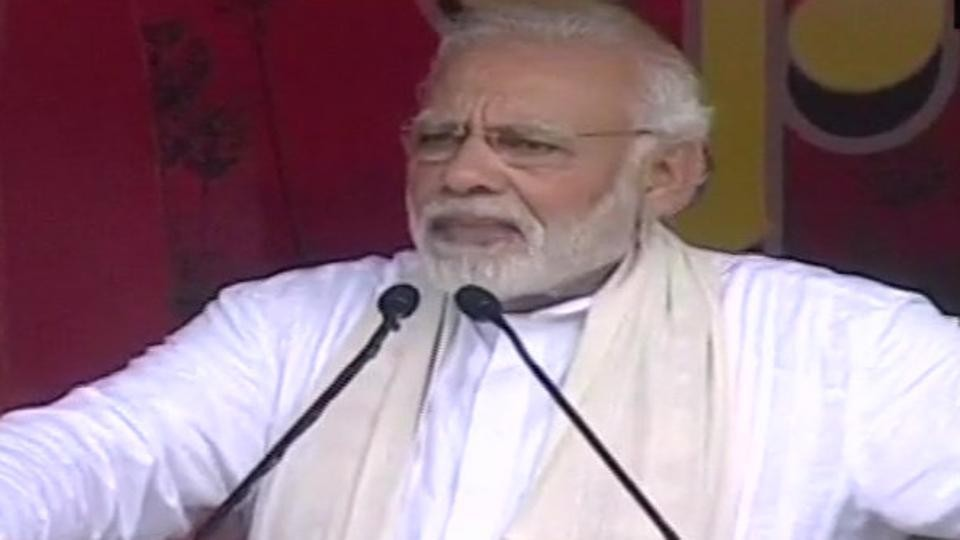 Some people are shocked on hearing 'om' or cow: PM Modi in Mathura