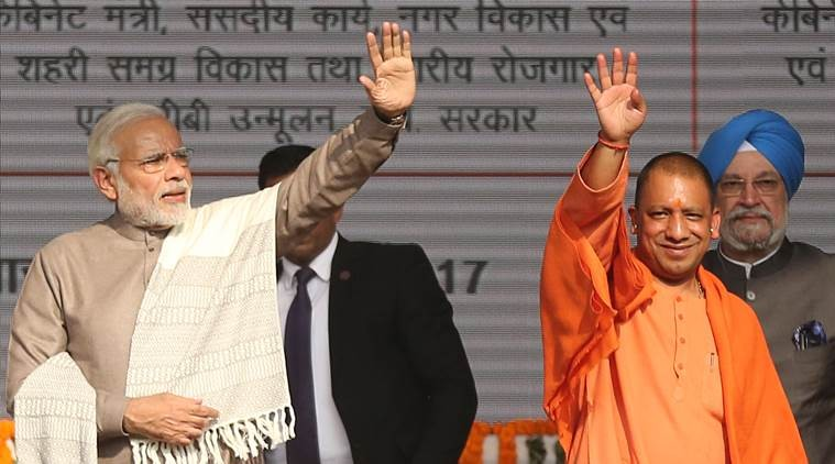 As BJP Tilts Towards Hindutva, Yogi Overtakes Modi as Most Sought After Campaigner in Semi-finals to 2019