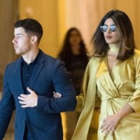 Priyanka Chopra & Nick Jonas Out On A Dinner Date