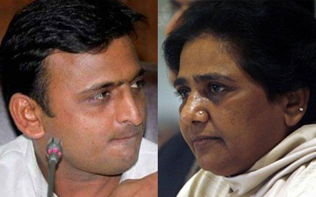 Mayawati Emerges as Akhilesh Yadav's Senior Partner as SP-BSP Announce UP Seat Details