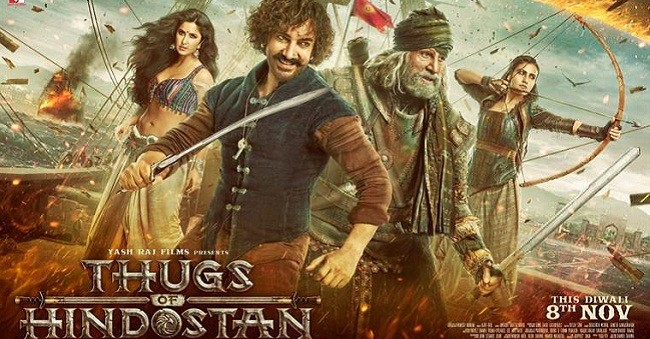 Thugs of Hindostan confirmed to hit Chinese screens on 28 December