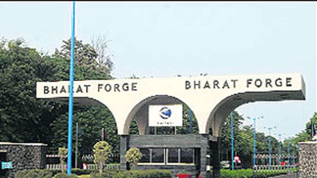 Bharat Forge reported net profit of Rs 171.92 crore in Q1