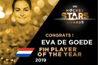 Netherland's Eva de Goede named FIH Player of the Year