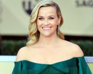 Reese Witherspoon turns lady in blue for a meeting