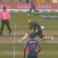 PSL: Azam Khan 'redefines cricket', completes run with inverted bat