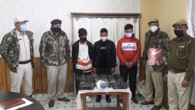 Myanmar bound drugs worth Rs 14 cr seized in Manipur, 3 held
