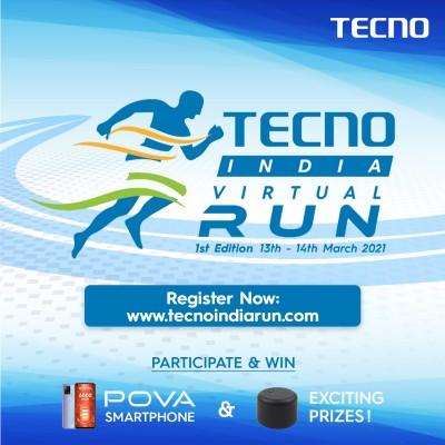 TECNO announces brand-connect initiative 'TECNO India Virtual Run'