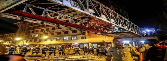6 Dead, 32 Injured as Foot Overbridge Collapses Near CST Railway Station in Mumbai