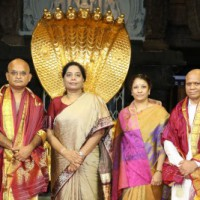 TTD EO Jawahar Reddy takes oath as specified authority chairman