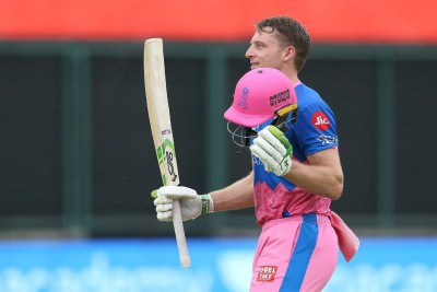 Buttler's maiden T20 ton leads RR to 55-run win over SRH