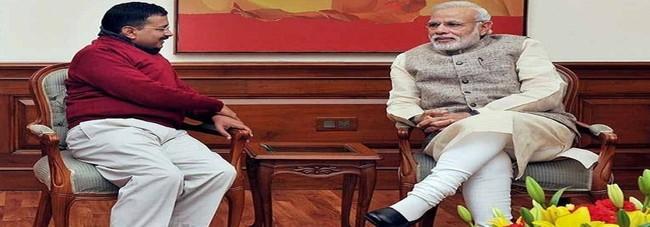 PM Modi not in Delhi on Kejriwal's swearing-in day