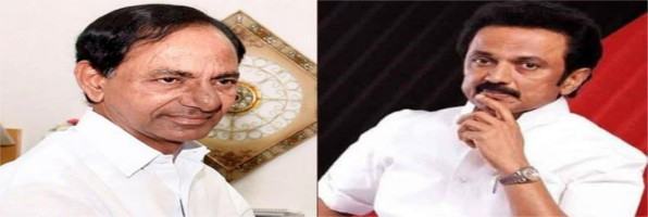 KCR to meet MK Stalin today; steps up efforts to form third front