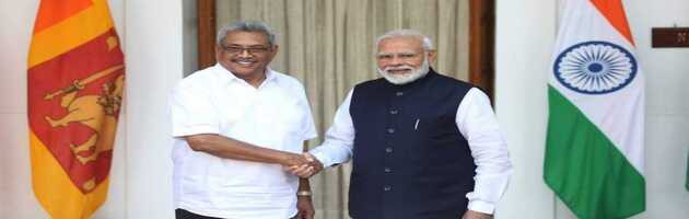 No 'third force' will be allowed to affect relations with India: Gotabaya Rajapaksa to PM Modi