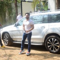 Varun Dhawan arrives at Sangeet venue, few Bolly celebs spotted too