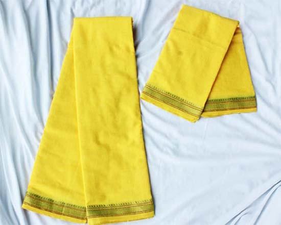 शुभ कार्यों में होता है पीले रंग का उपयोग