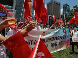 हॉन्ग कॉन्ग के विवादित कानून को चीन की मंजूरी